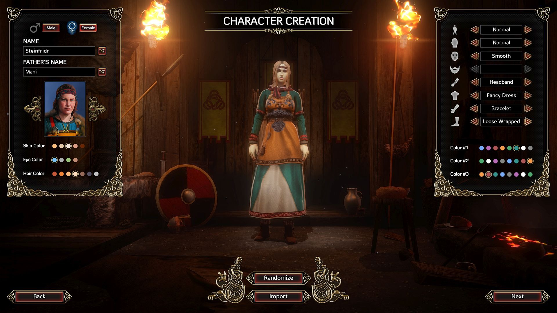 character creation f