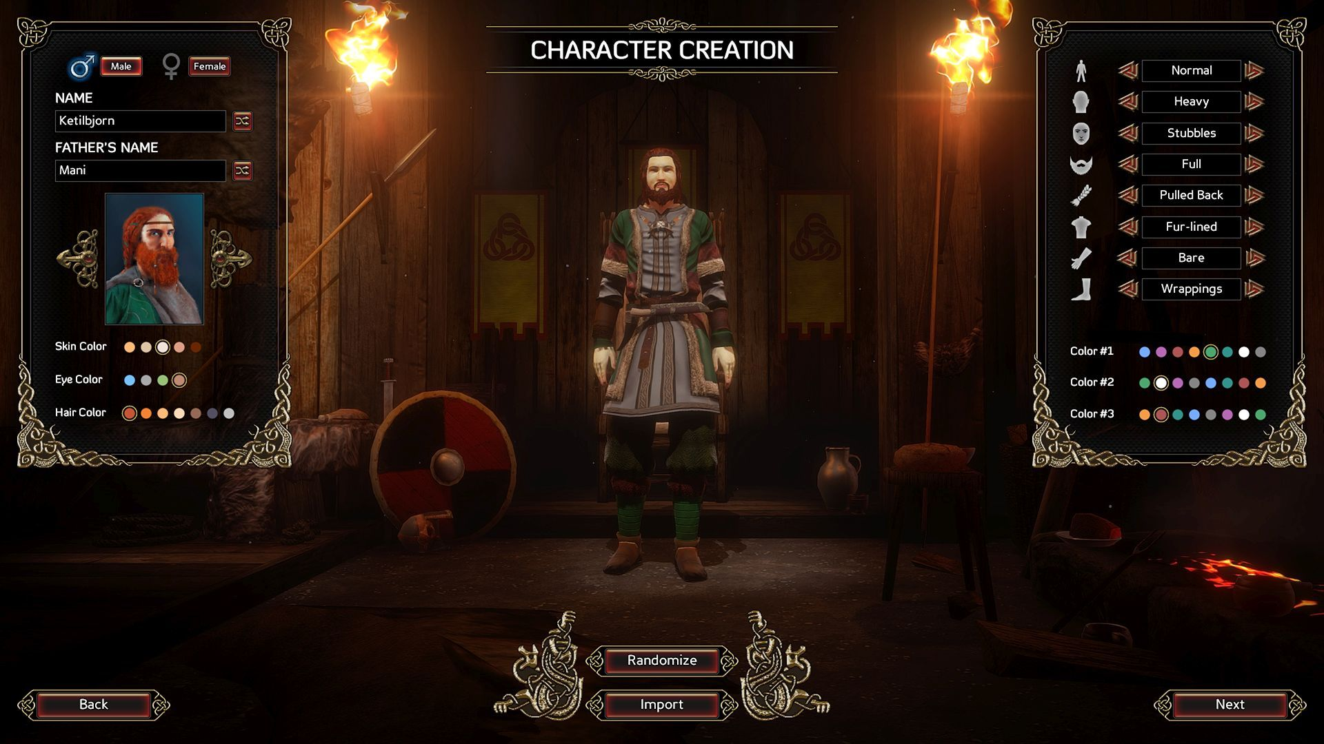 character creation m 02