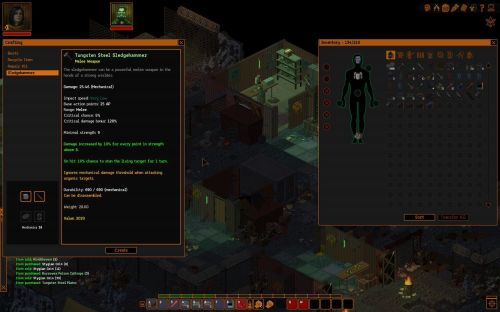 RPG Codex Review: Underrail :: rpg codex > doesn't scale to