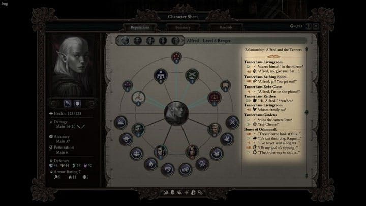poe2 relationship tracking