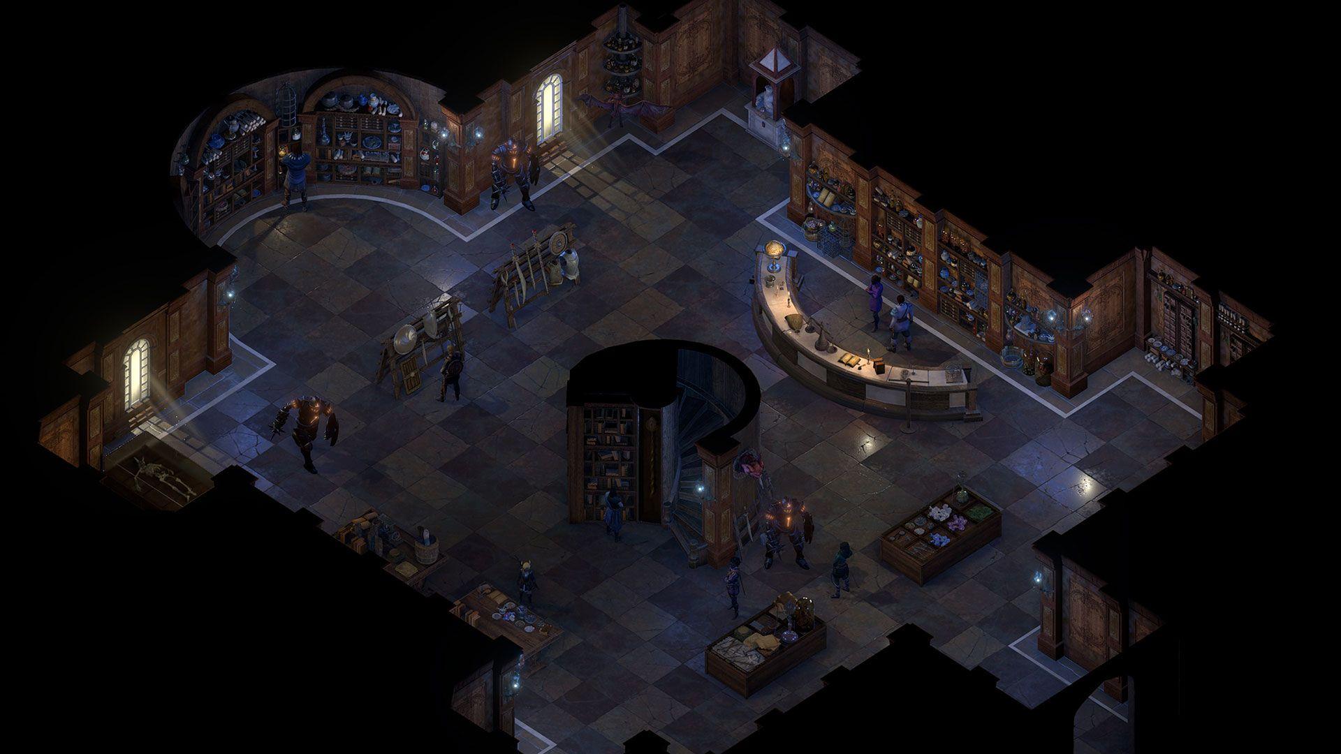 deadfire screenshot neketaka library 001