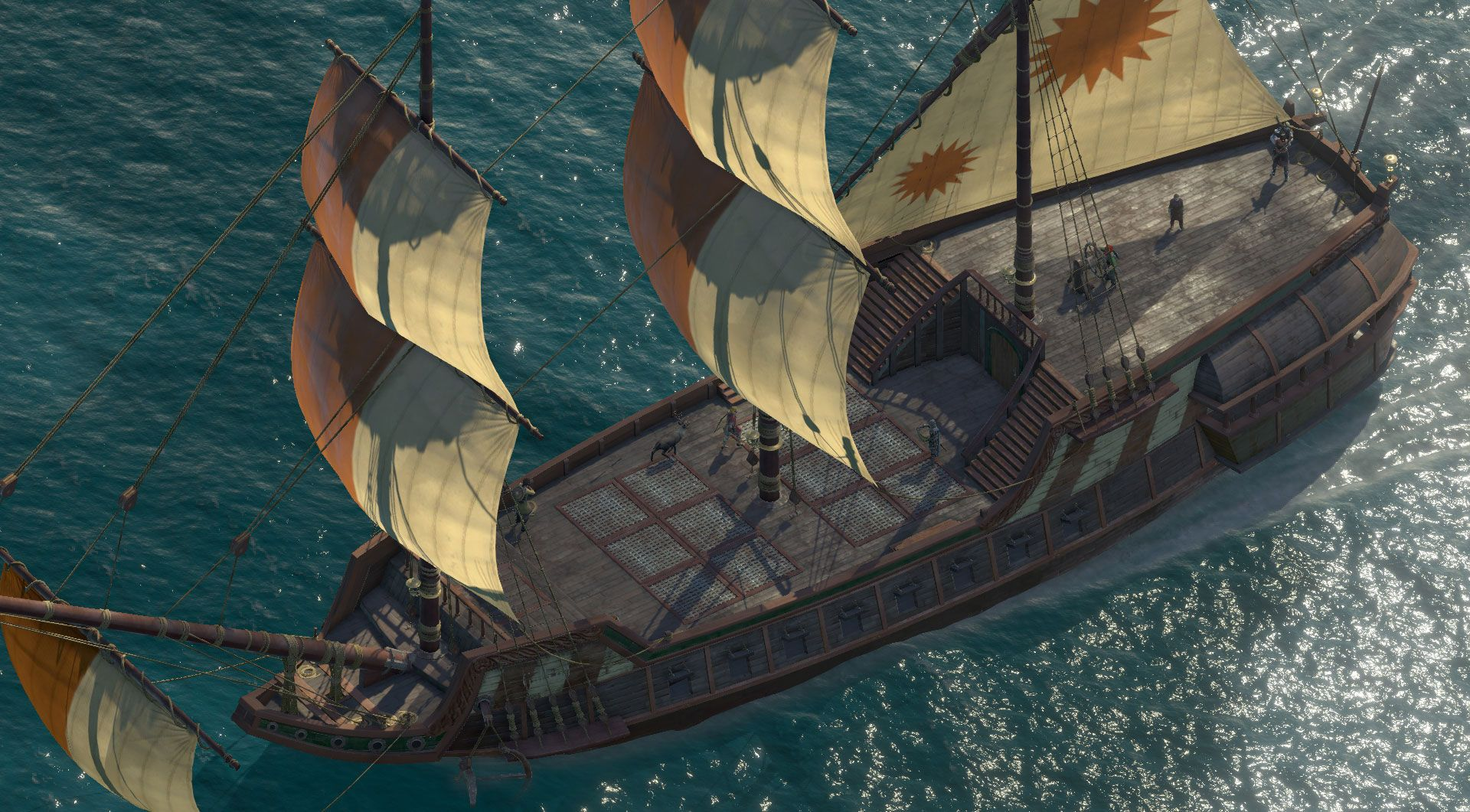 deadfire screenshot ship deck