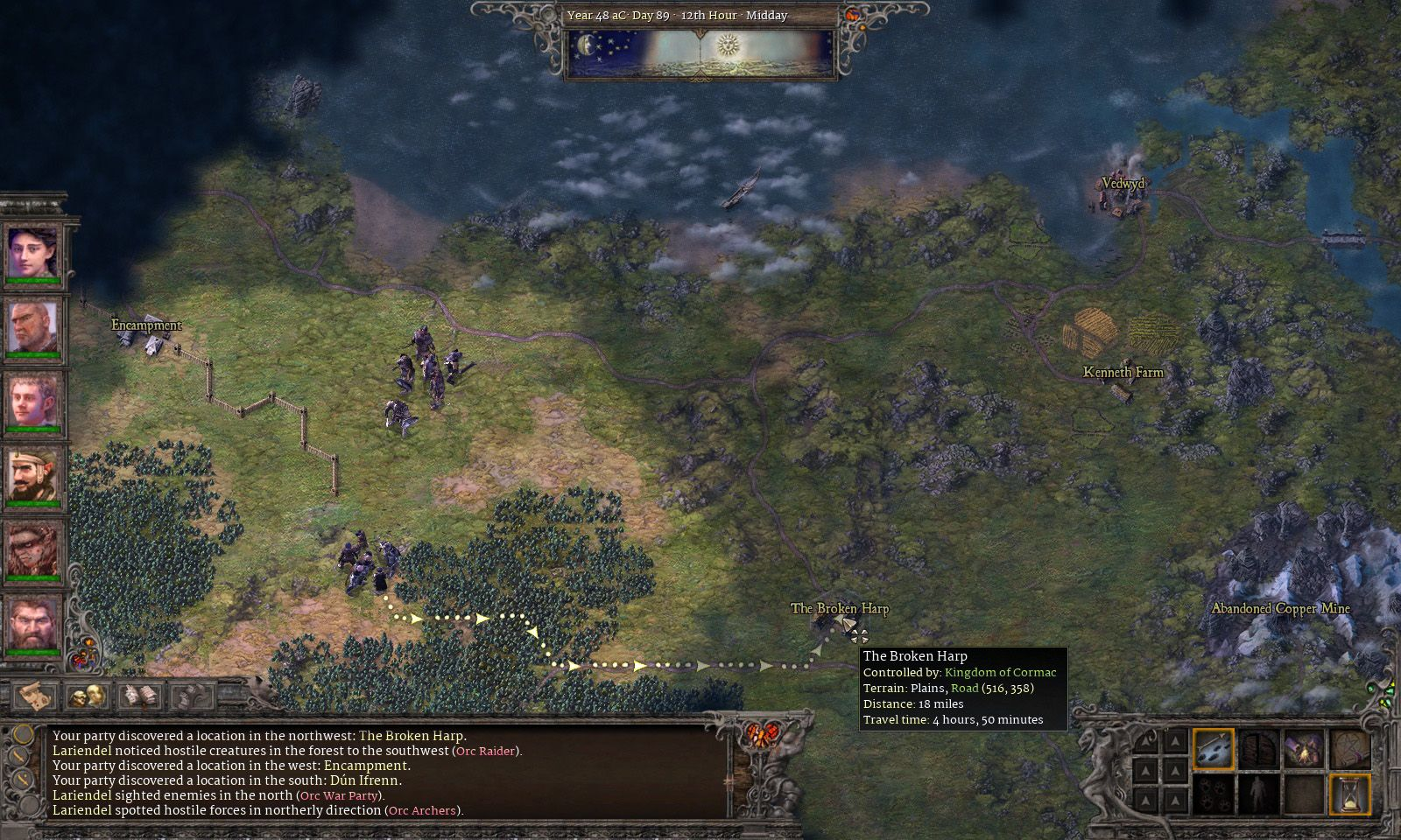 rb screenshot 0831 worldmap01 - Realms Beyond: Ashes of the