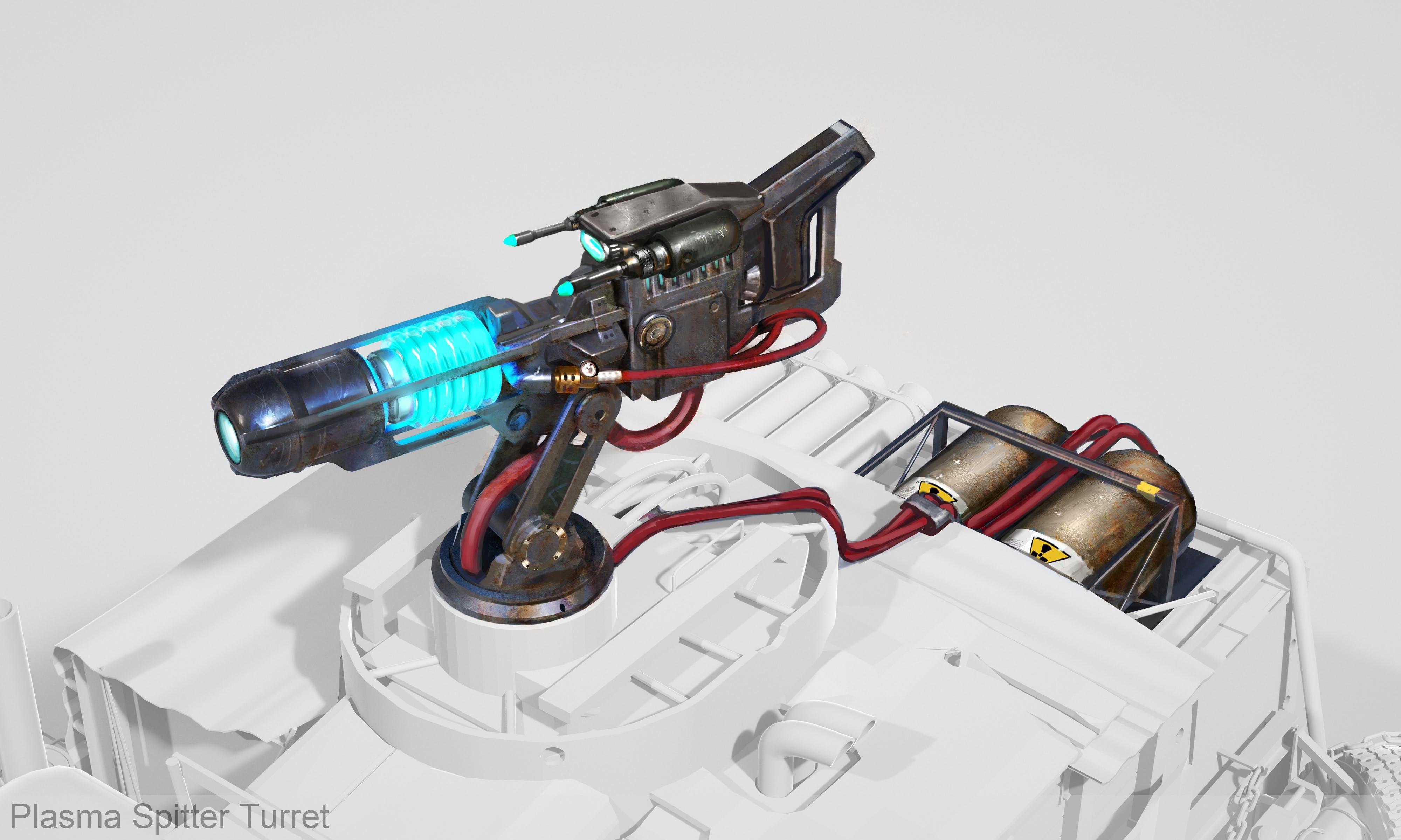 plasma spitter