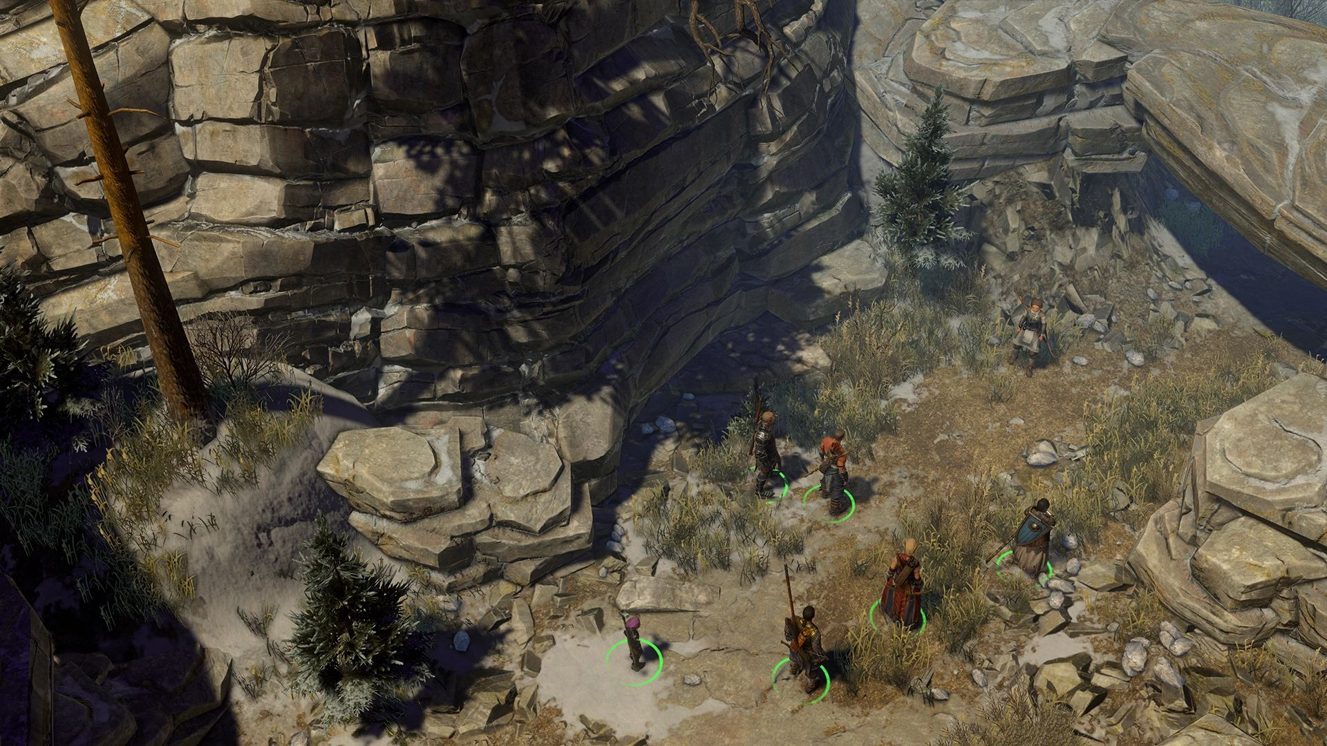gibbering swarm canyon enter