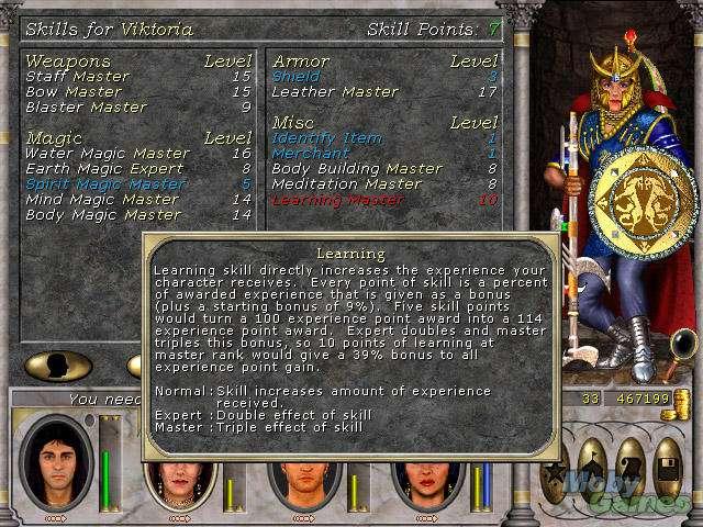 111481 might and magic vi the mandate of heaven windows screenshot
