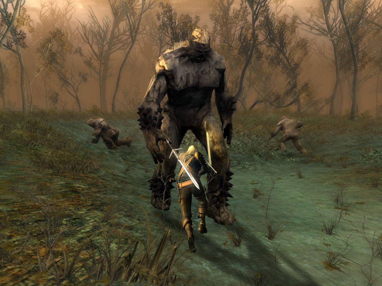 The Witcher screenshot