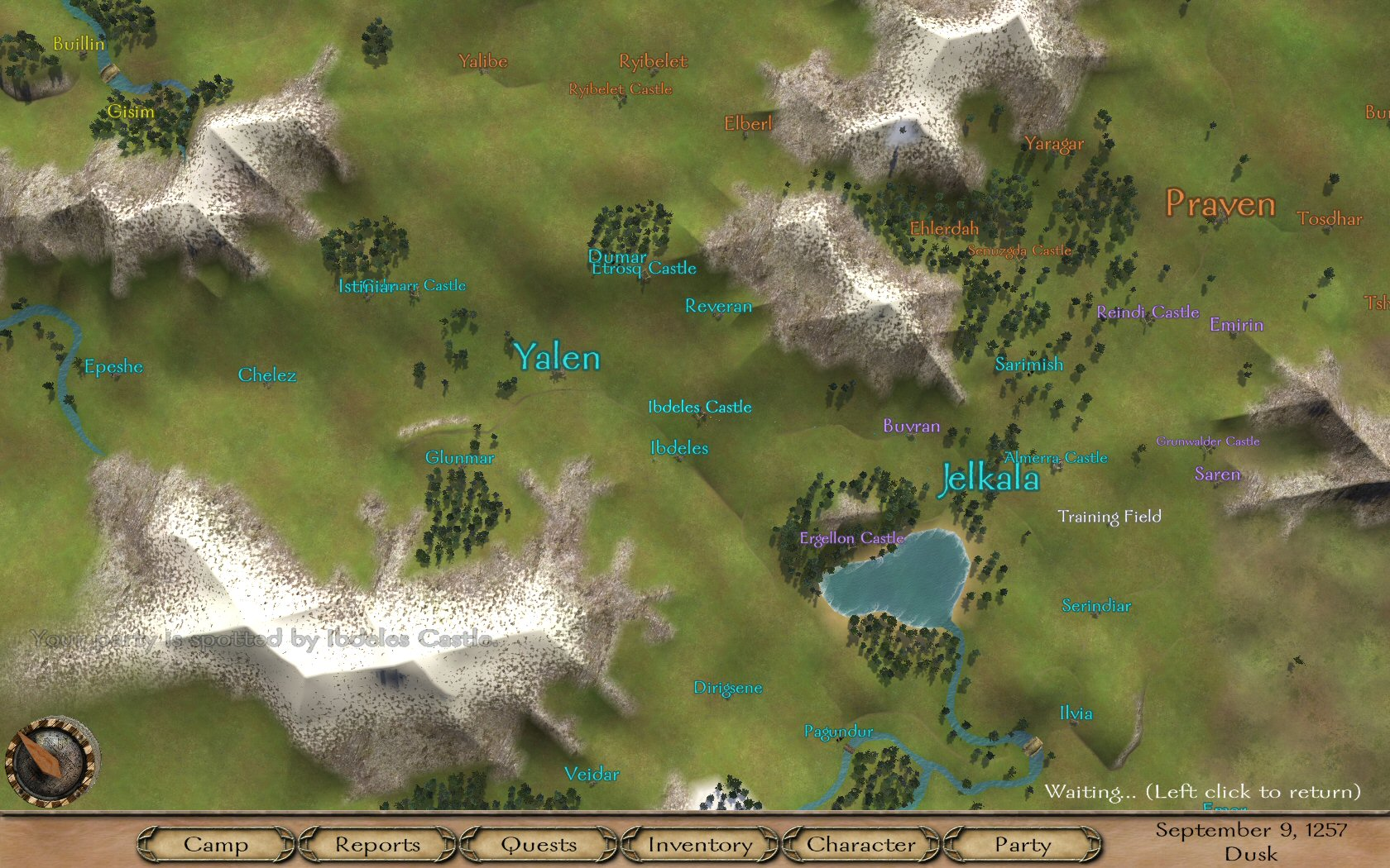 World map mount blade rpg codex doesnt scale to your level world map gumiabroncs Choice Image