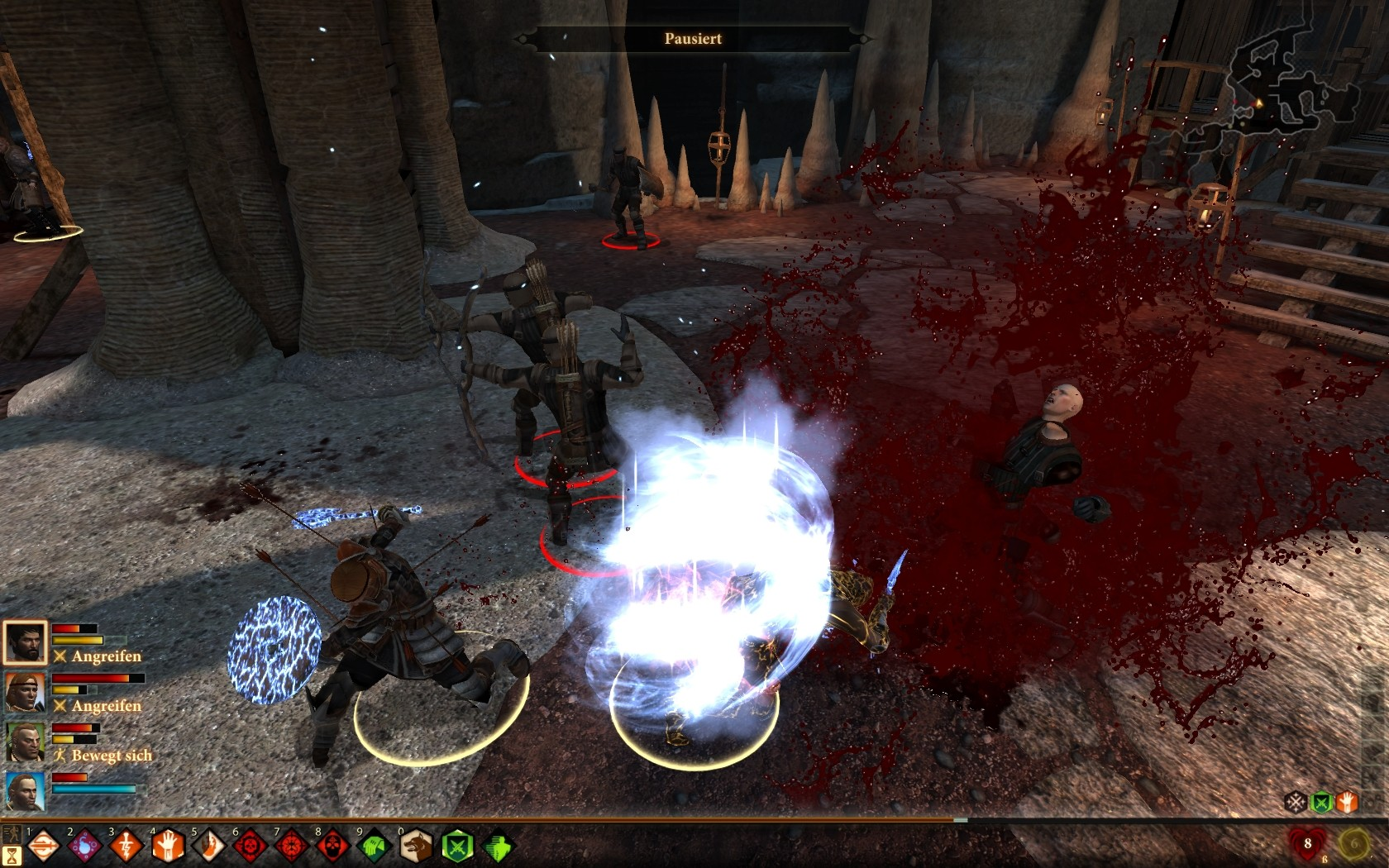 dragonage2 explode
